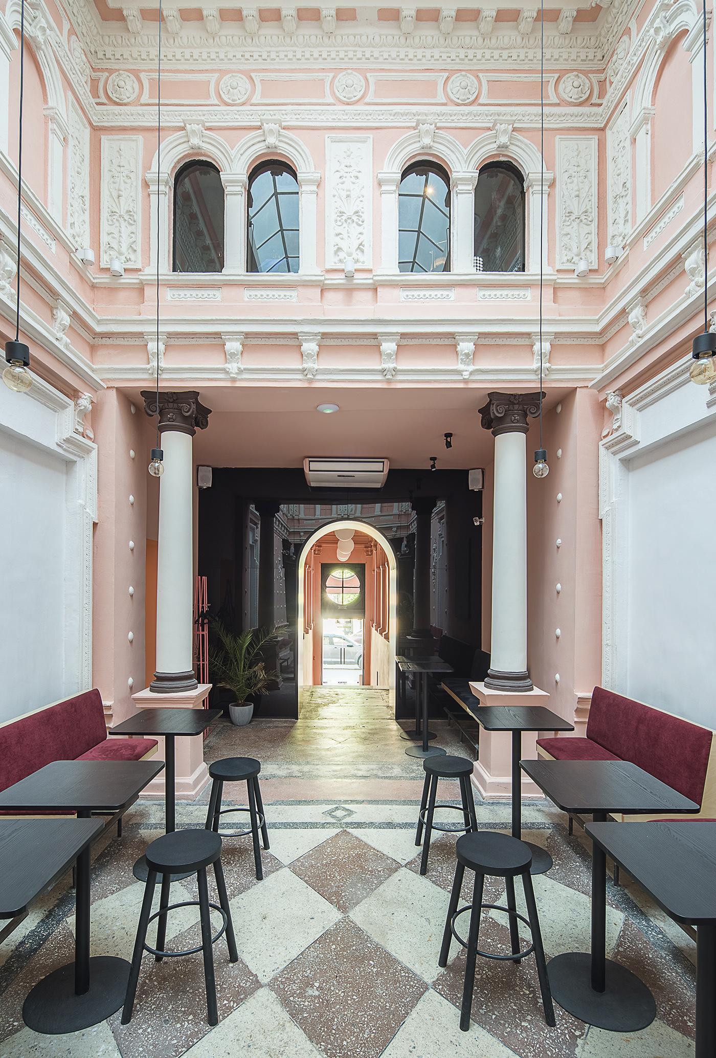 Odessa restaurant design Interior balbek 2B LOFT creative