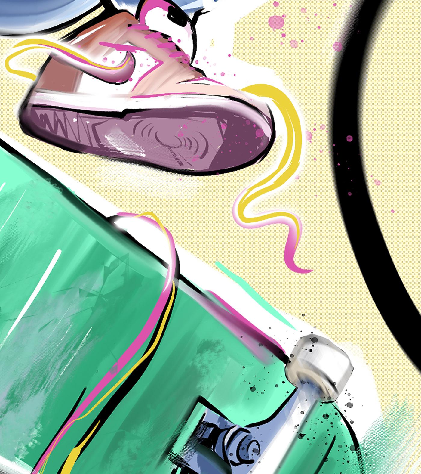 Image may contain: cartoon, drawing and art