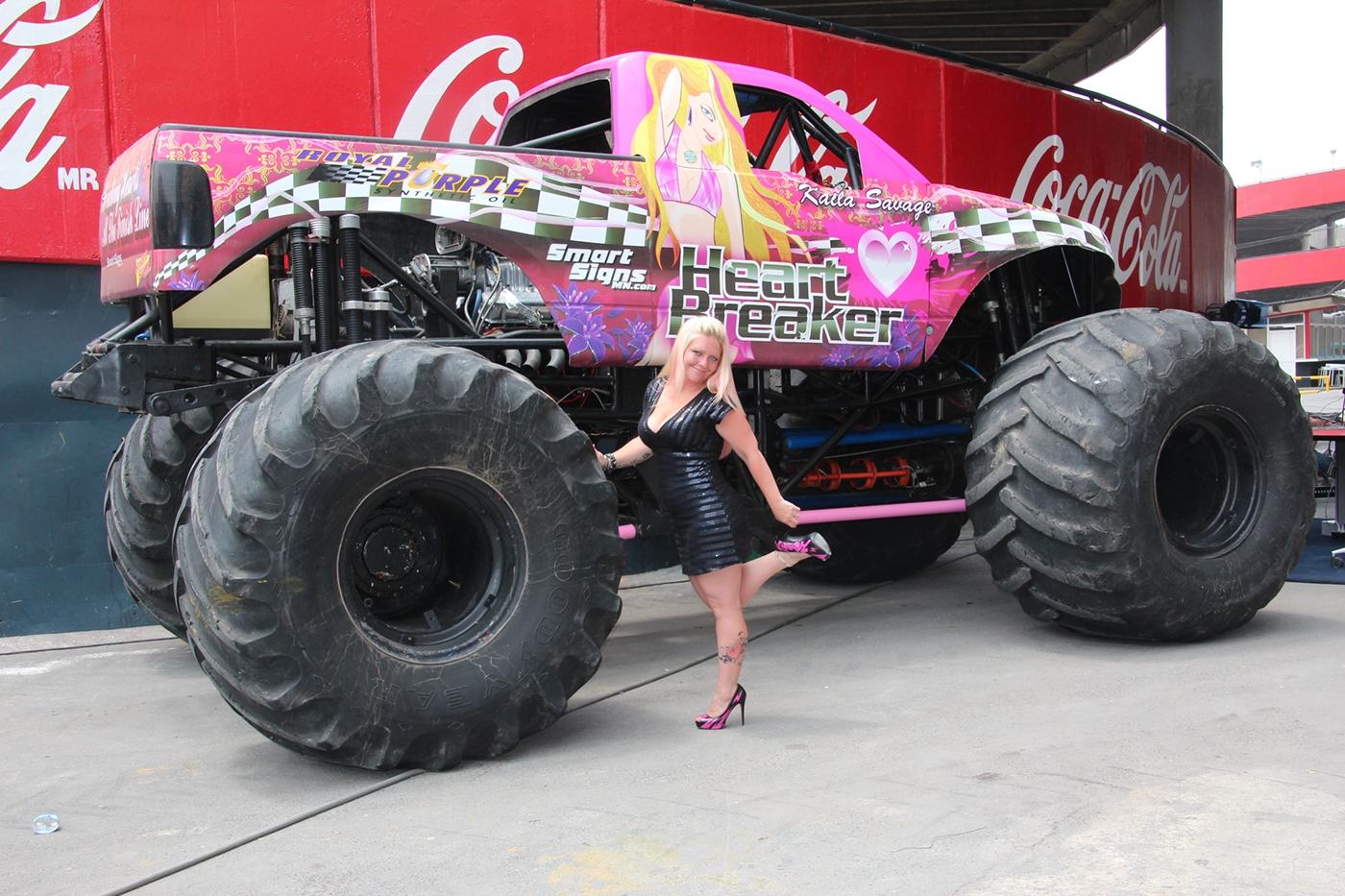 Heart Breaker Monster Truck On Behance