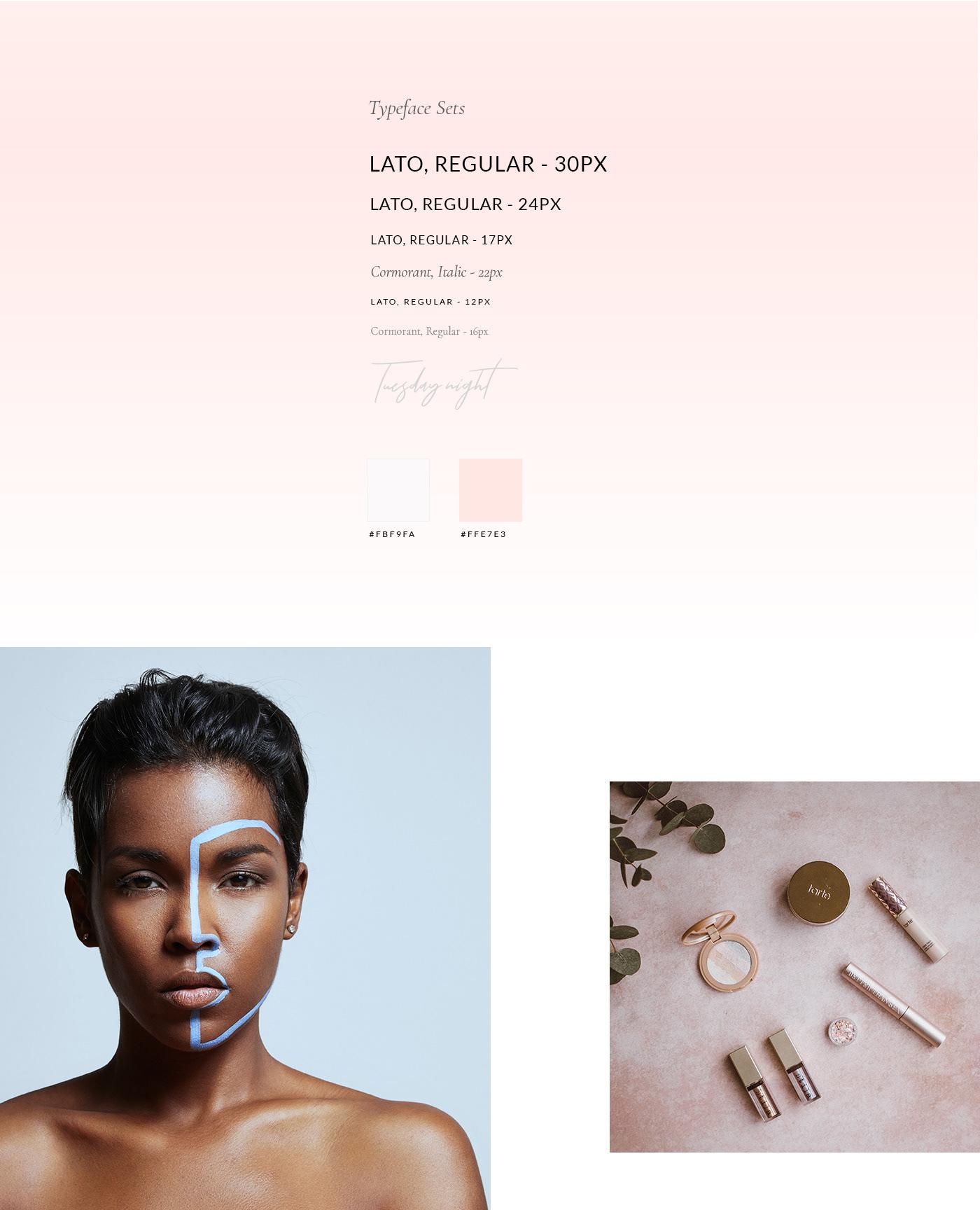 cosmetics Woocommerce web shop beauty shop cosmetic shop modern clean design