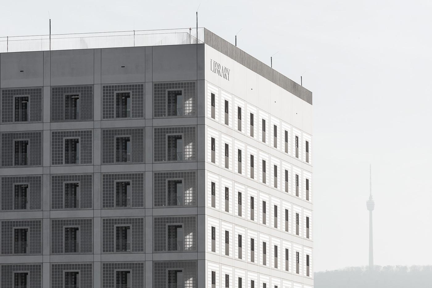 Architects Stuttgart city library stuttgart on behance