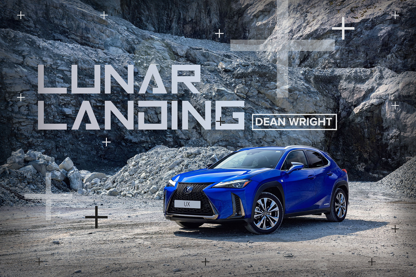 Lexus UX Hybrid car photography by Dean Wright Automotive. shot on location in Scotland.