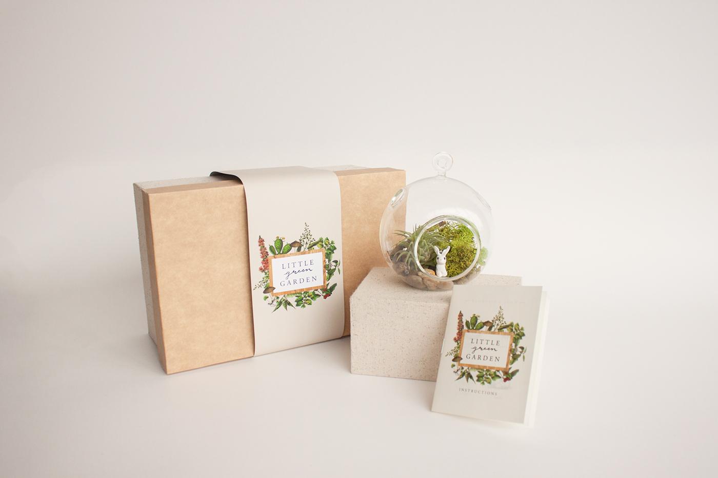 Little Green Garden Terrarium Kit On Behance