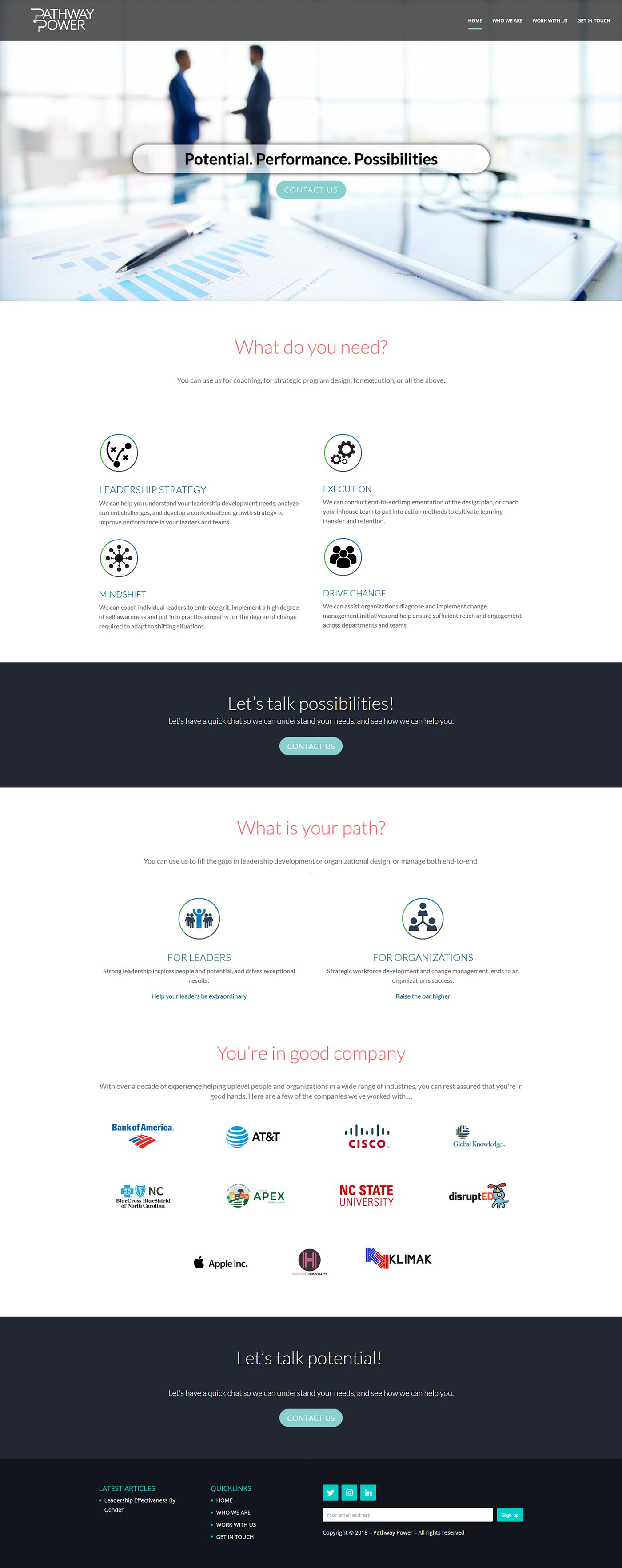 Lead Template Website Design landing page Mobile responsive website template ui design