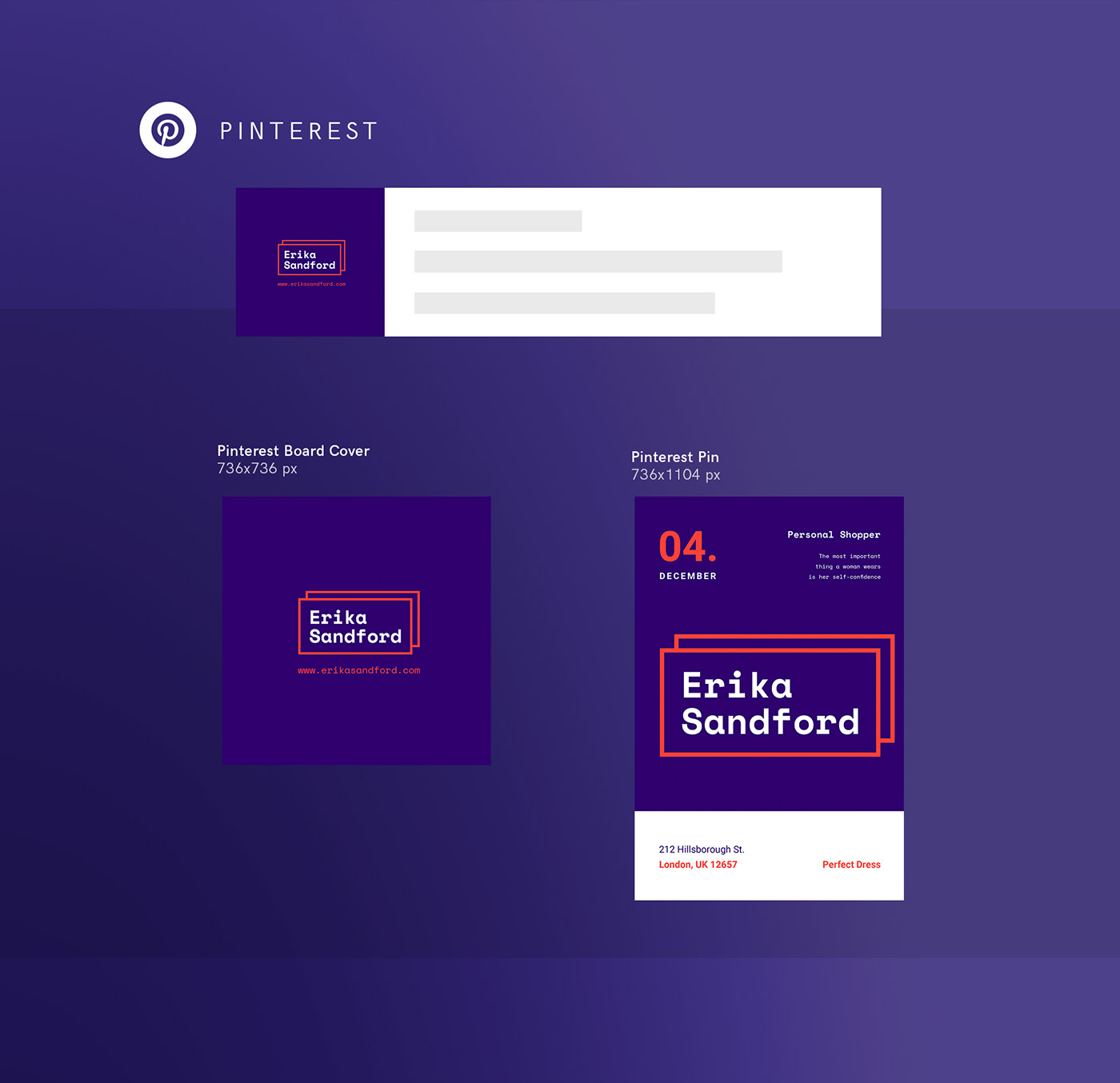 Personal Shopper | Free Download Design Templates on Behance
