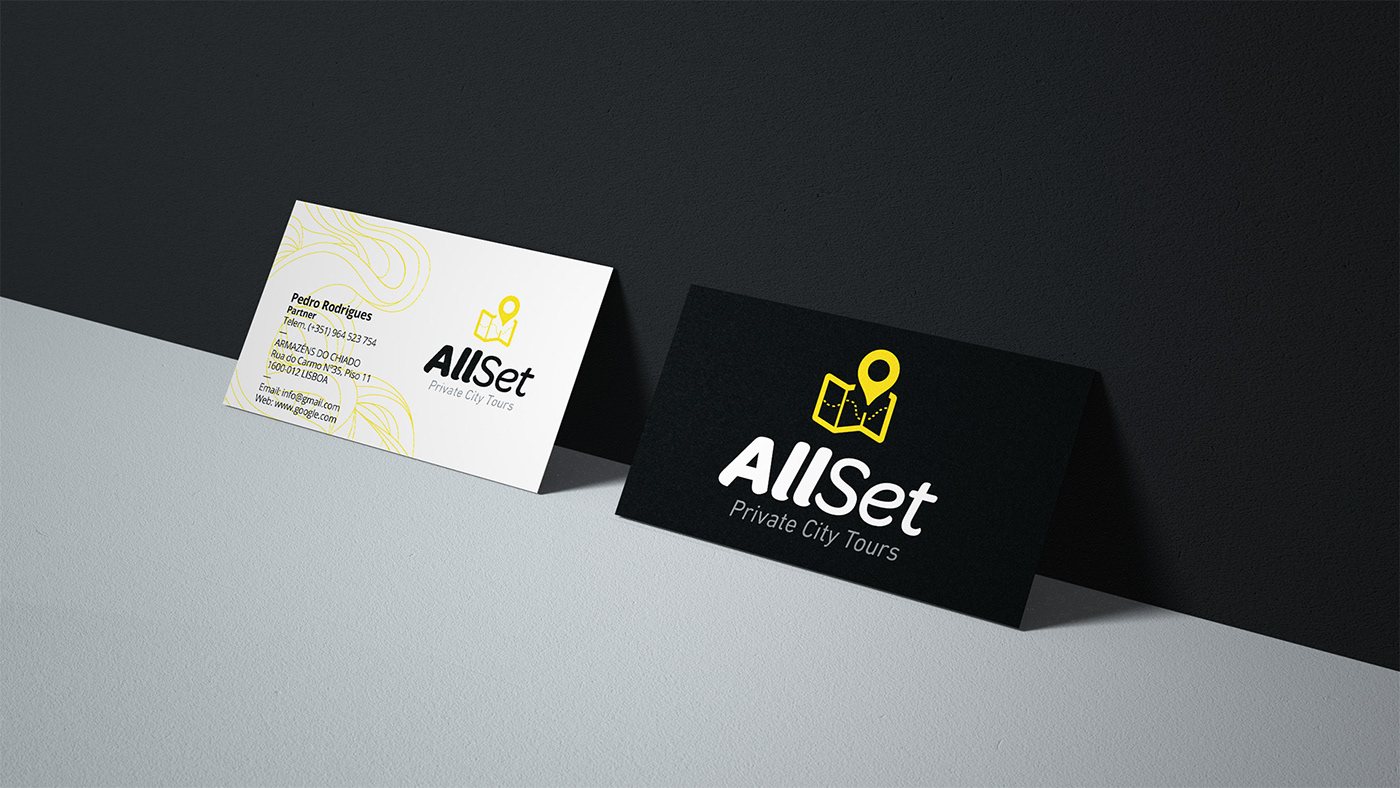Image may contain: businesscard and logo