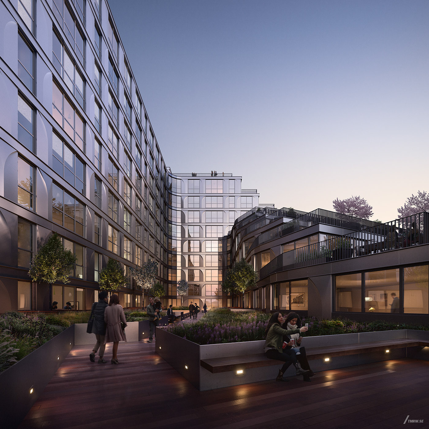 Towers Of Channelside Floor Plans: By Studios Architecture On Behance