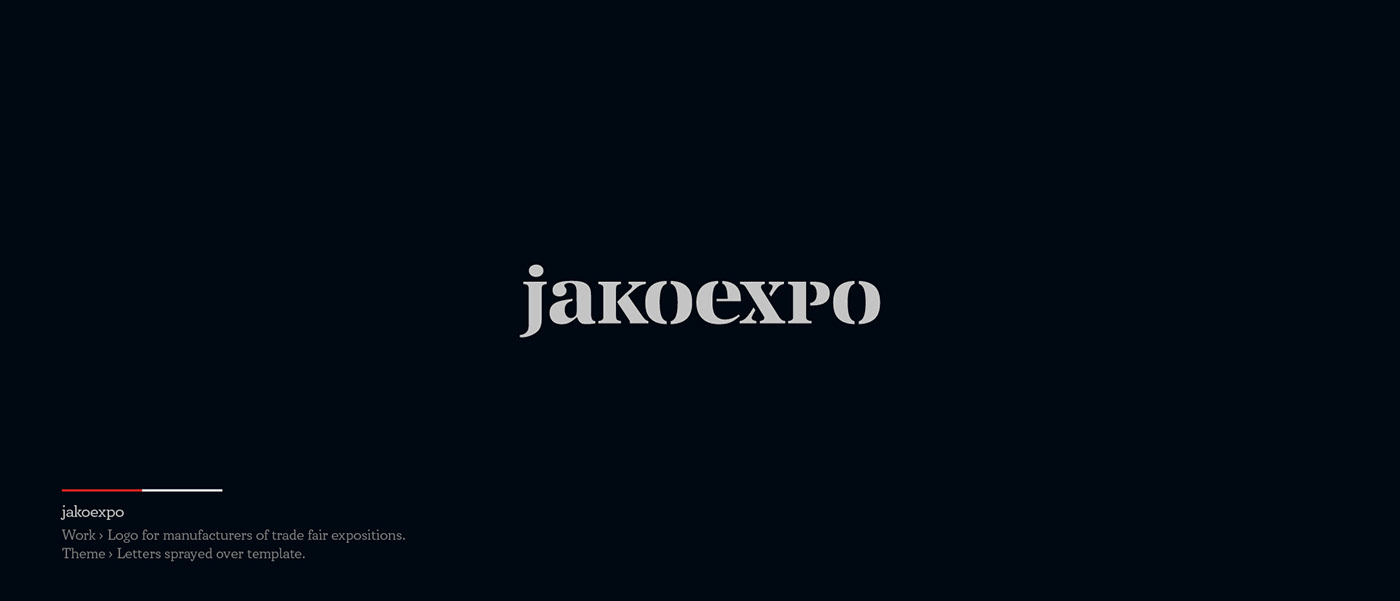 Jakoexpo - Logo for manufacturers of trade fair exposions