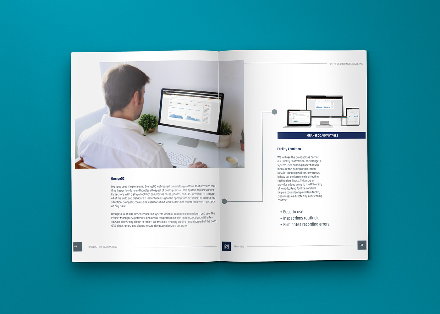 editorial layouts grid typography   Proposal report b2b b2c higher education infographics