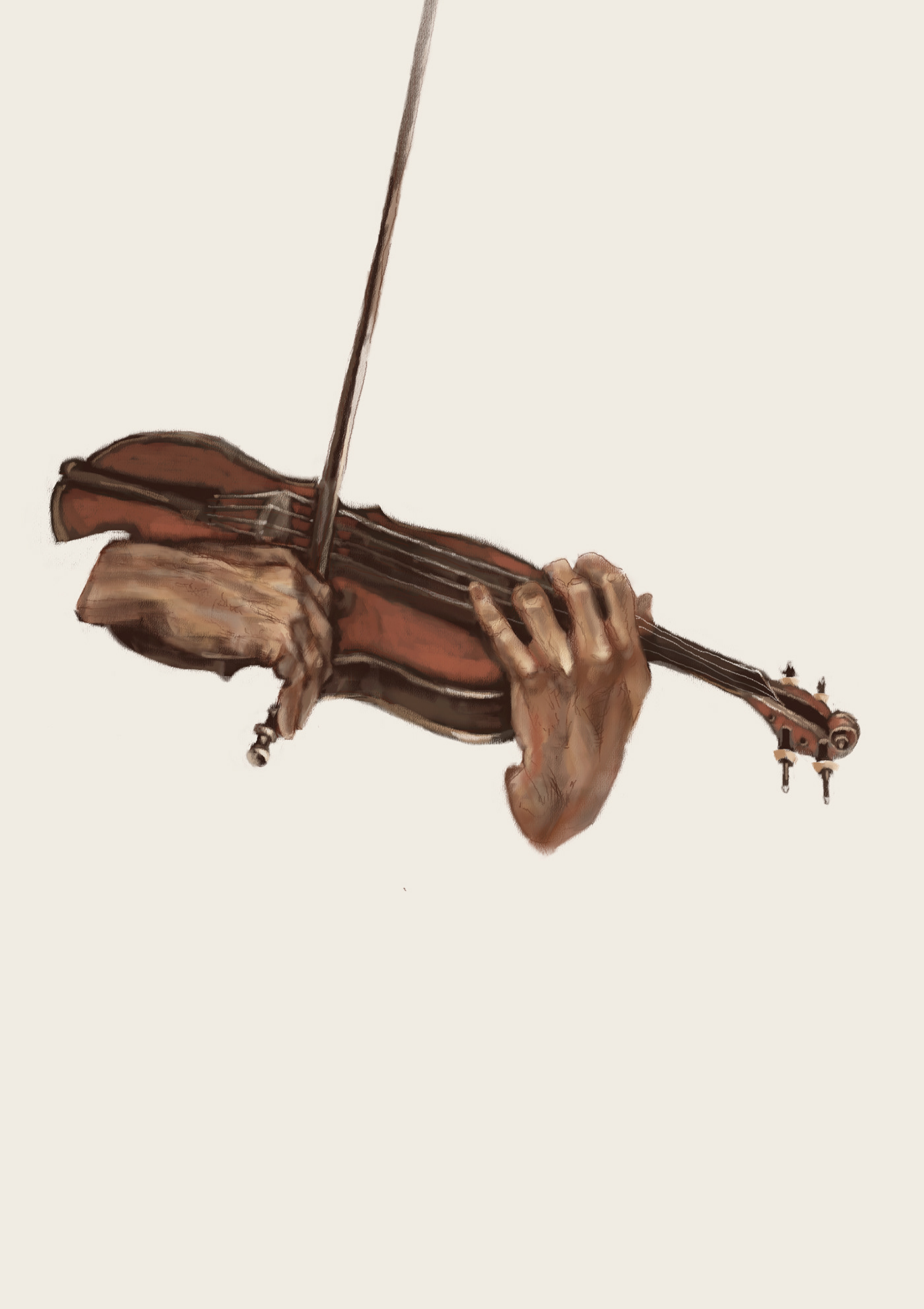 Image may contain: violin, musical instrument and cello