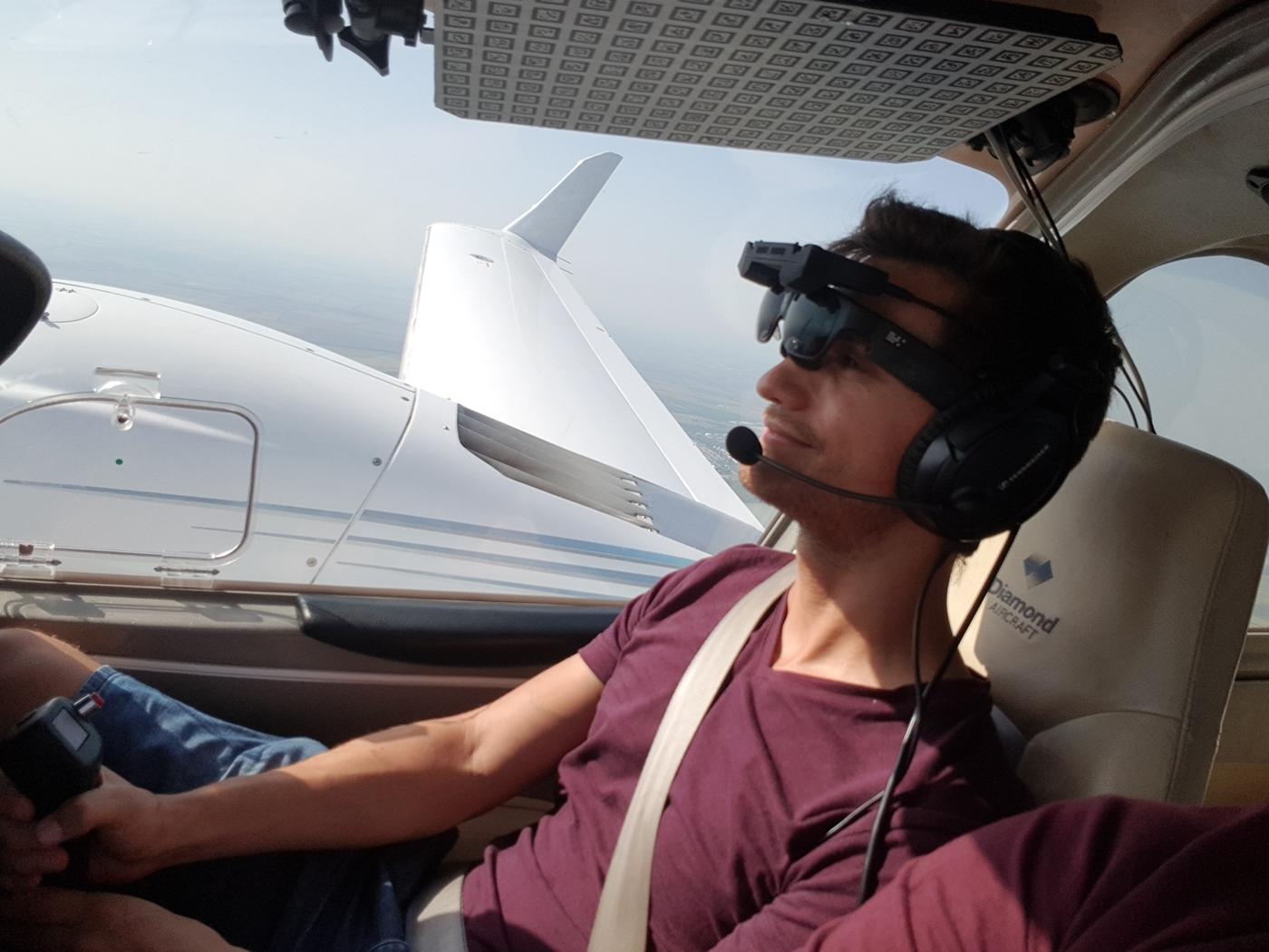 aero glass Igen design igendesign augmented reality Engineering  navigation Aircraft