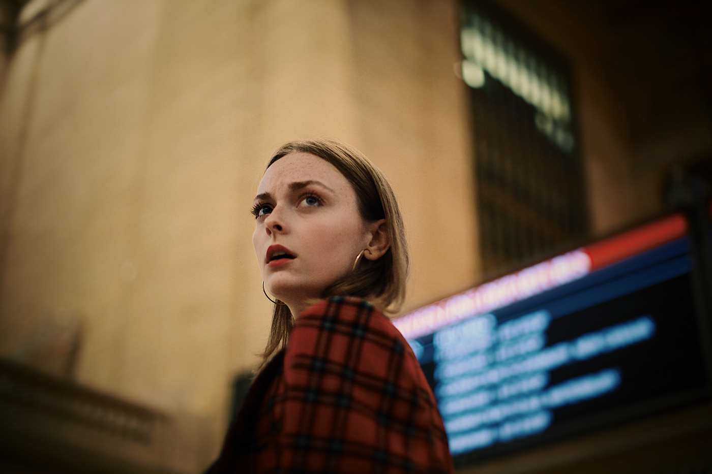 baader-meinhof editorial Photography  model grand central