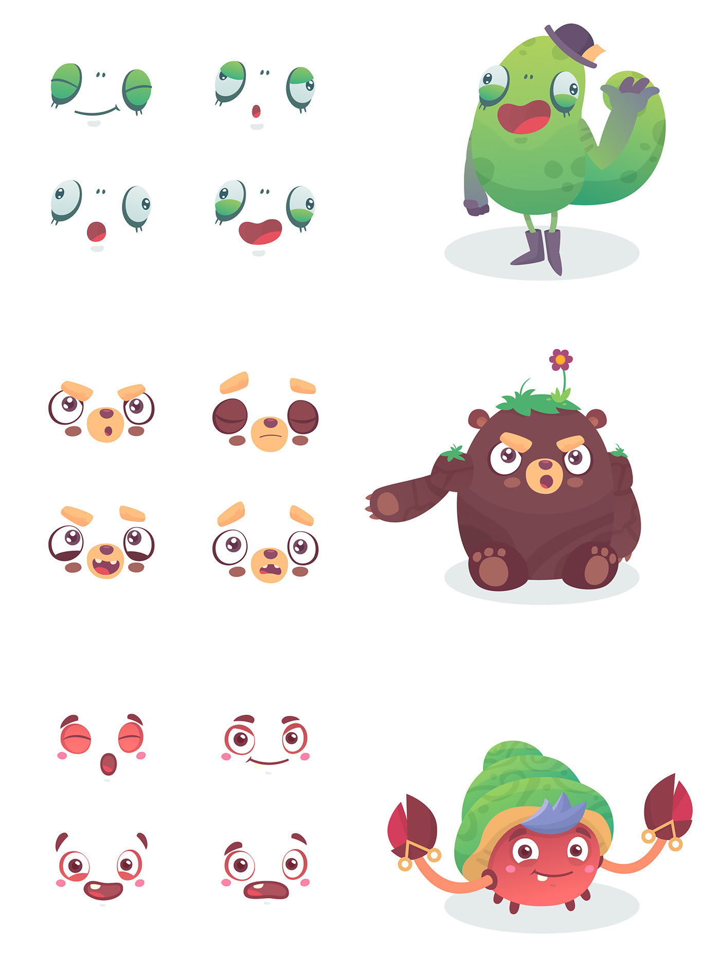 ilustracion videojuegos game curso characters personajes