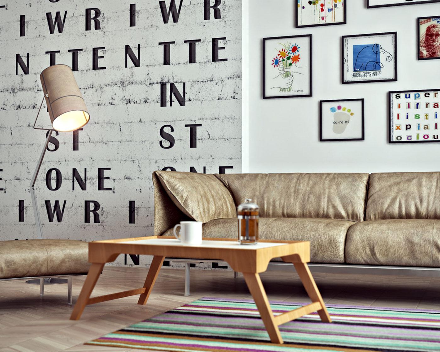 極美的20套客廳主牆顏色欣賞