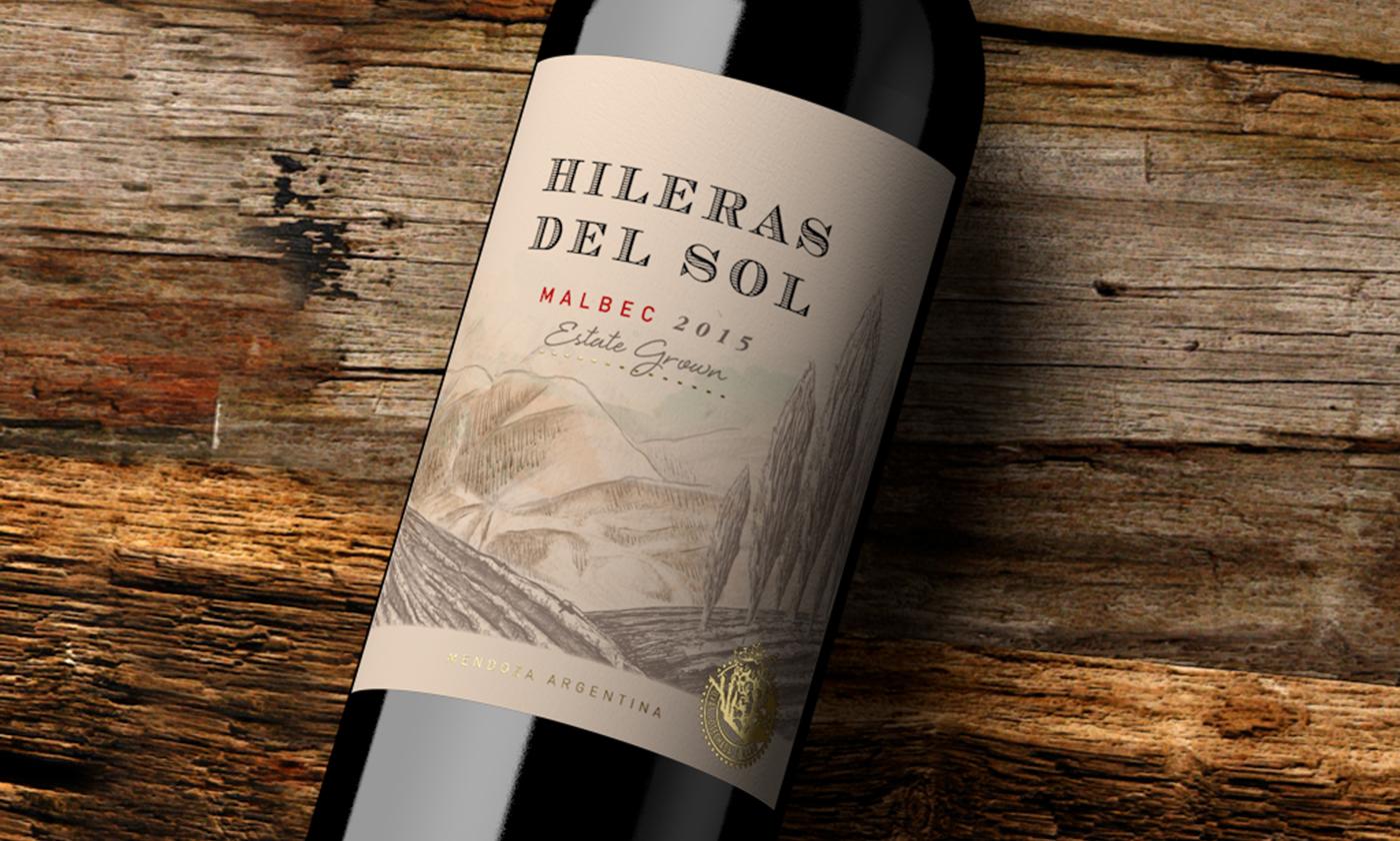 wine Label Packaging design argentina