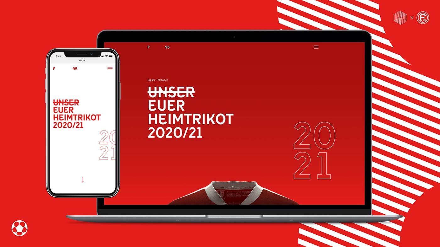 animation  Düsseldorf lottie  microsite scrollytelling soccer UX design Webflow Website sports