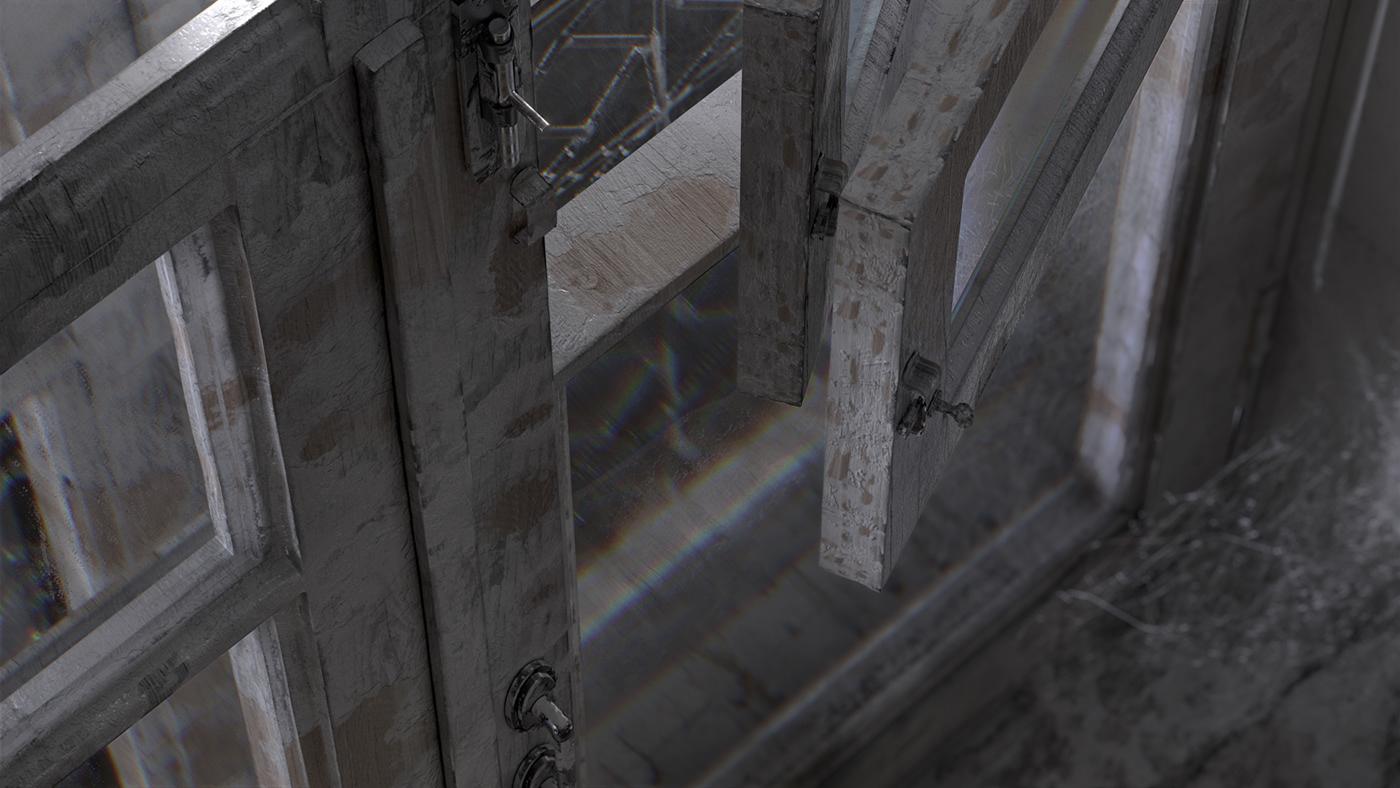 after effects cinema 4d dark Full CG monochrome redshift short film x-particles