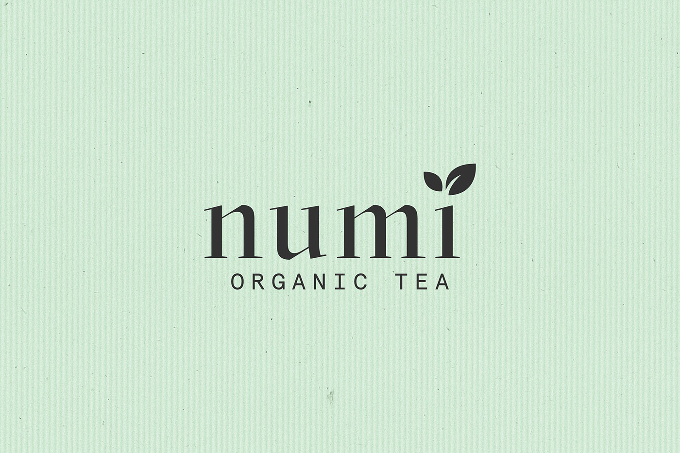 Adobe Portfolio package tea brand dieline minimal color pastel