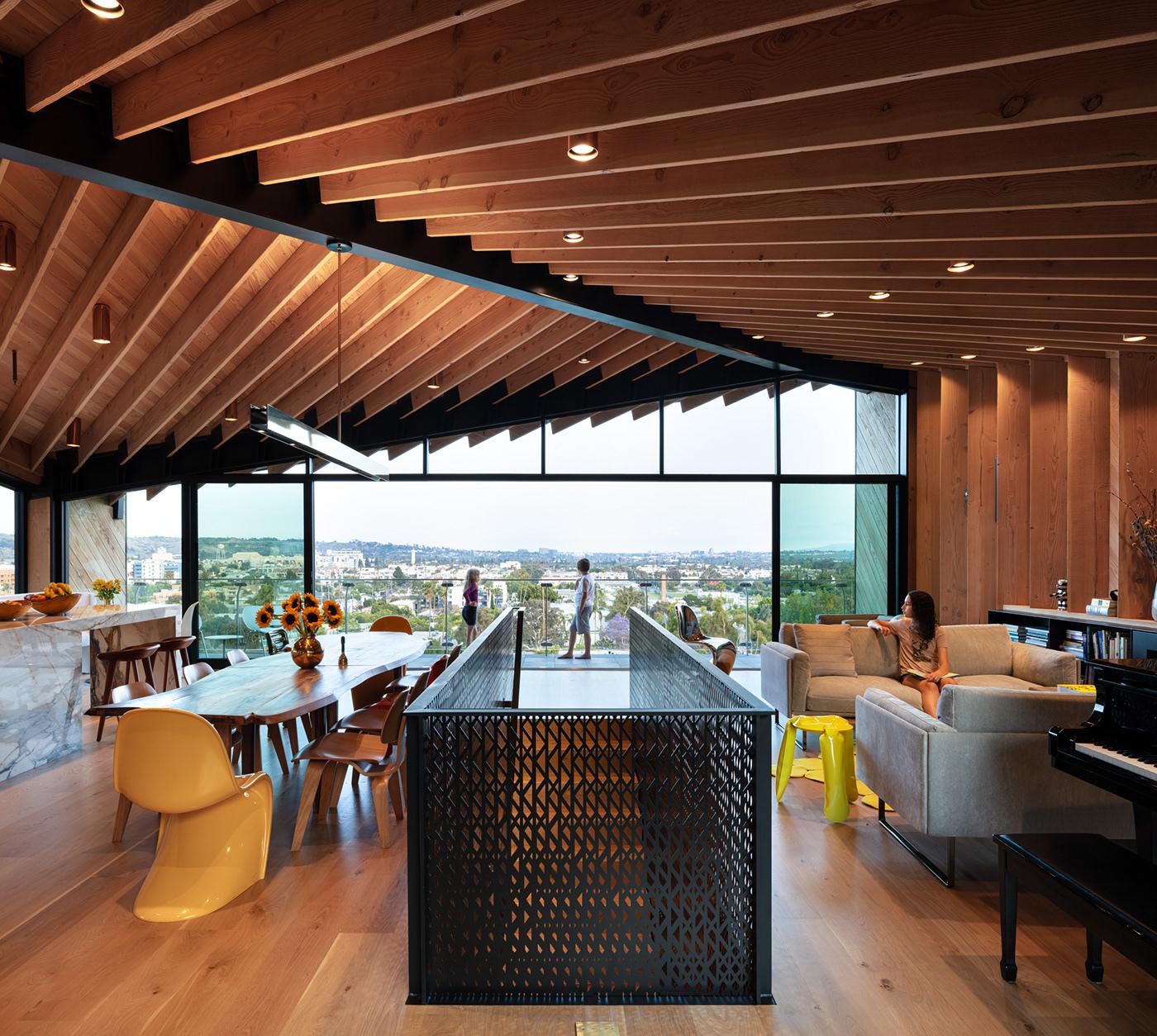 architecture clive wilkinson Custom Home design Interior Architecture interior design  Los Angeles modern architecture modern home Residential Design
