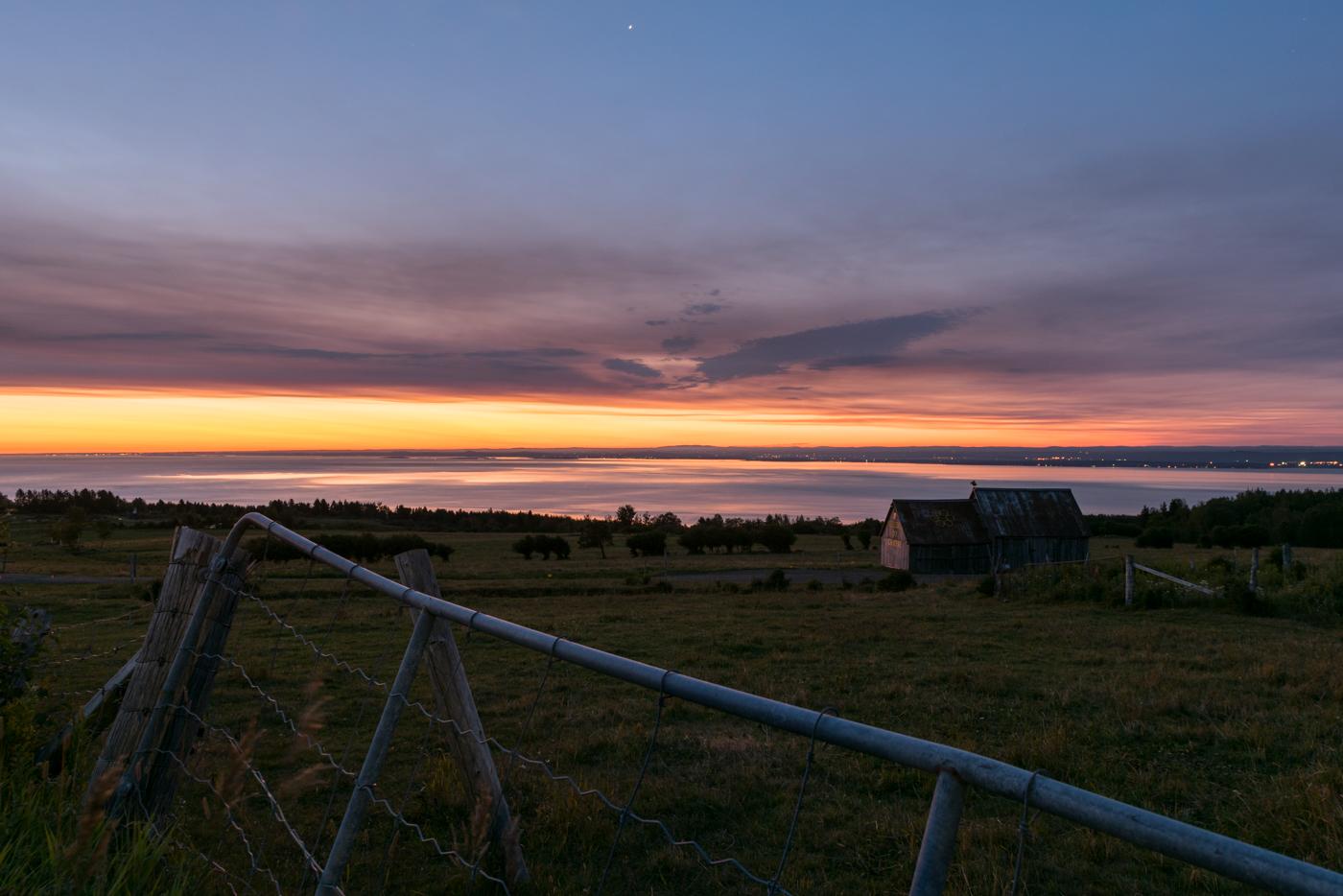 Charlevoix MonCharlevoix Quebec paysage Landscape explore Sunrise