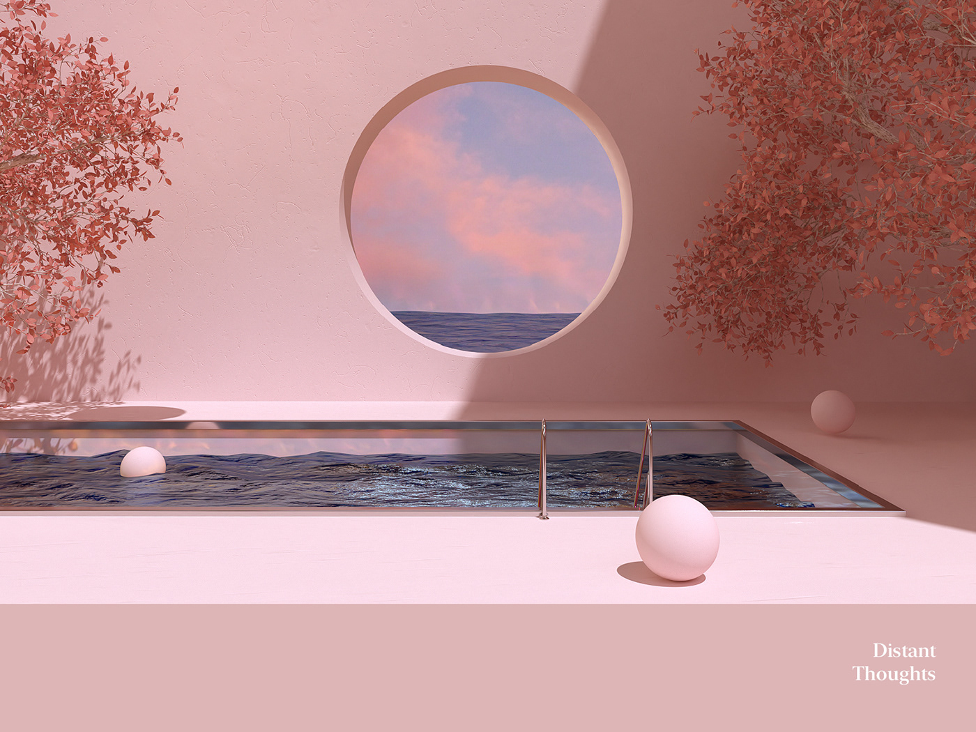 octane surreal surrealism art minimal poster fantasy