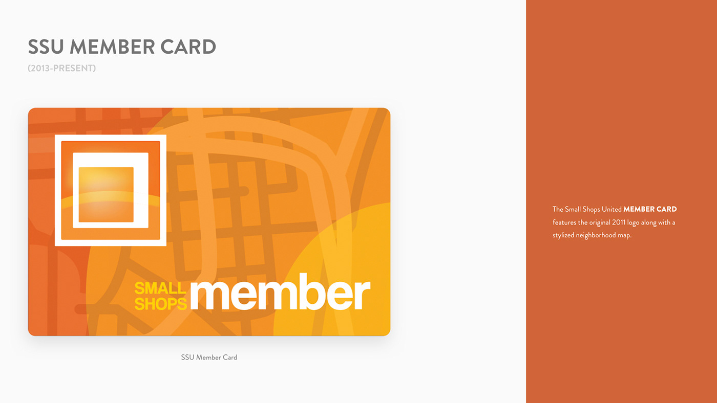 Small Shops United Member Card