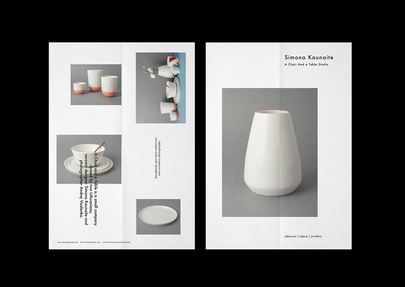 A Chair and a Table | ceramic studio identity on Behance