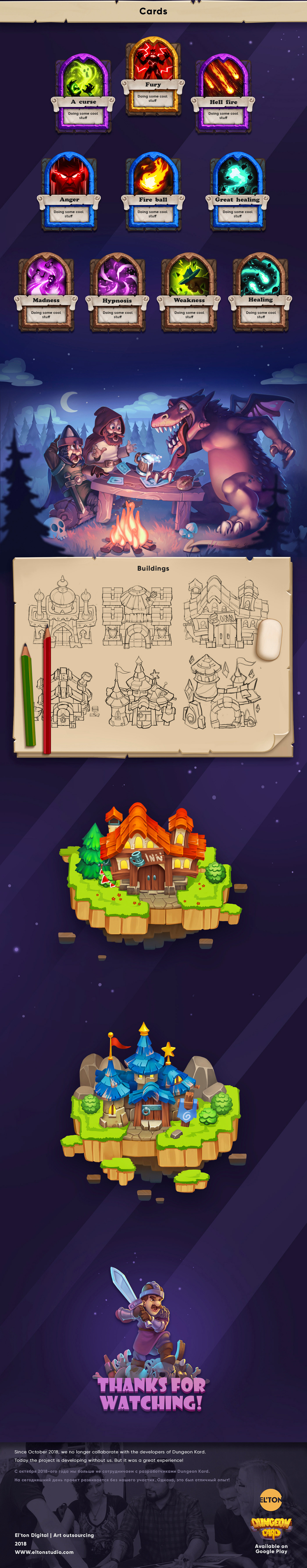 Game Art concept art illustrations characters sets icons ux UI Isometric building