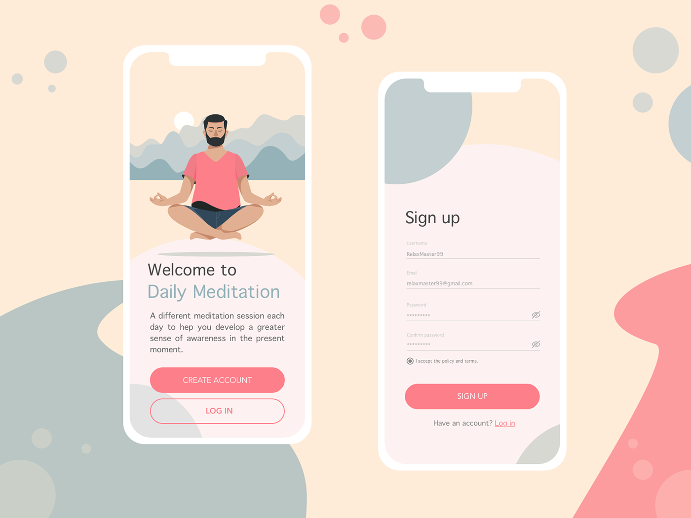 Daily UI #001 - Sign-up page