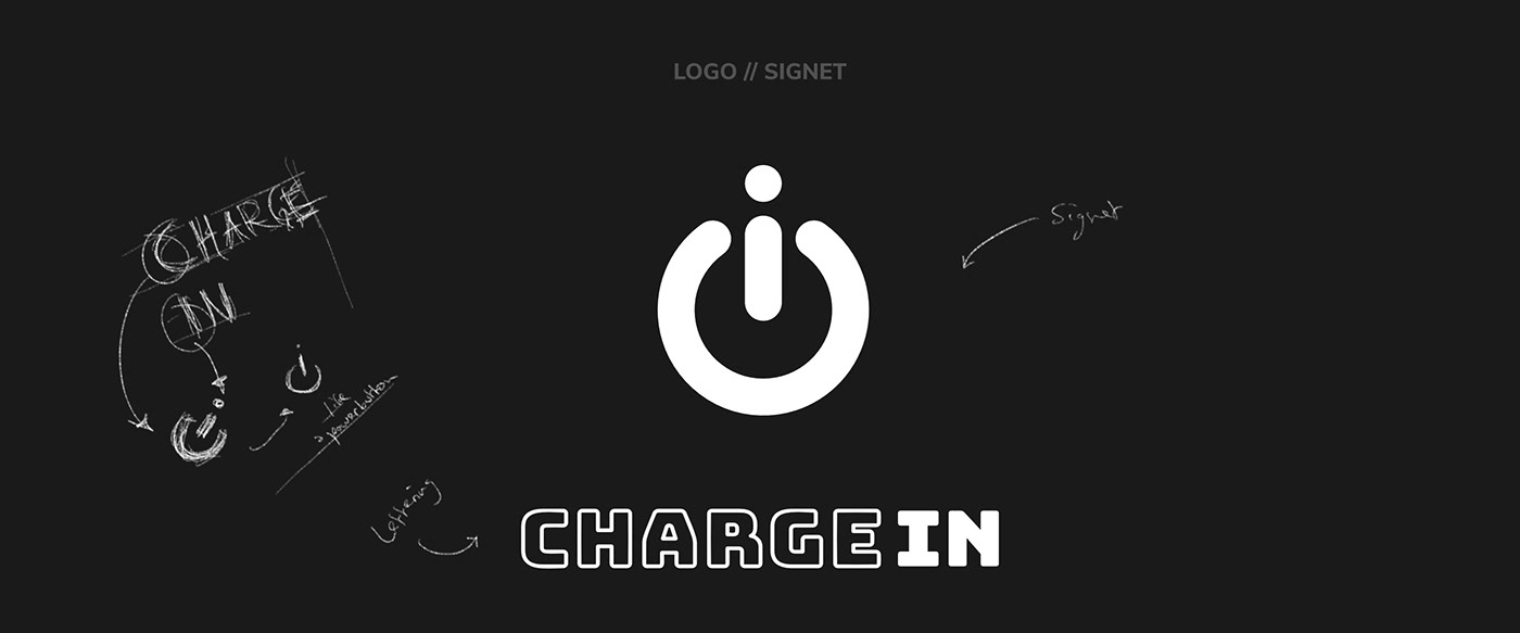 CHARGE IN // Logo