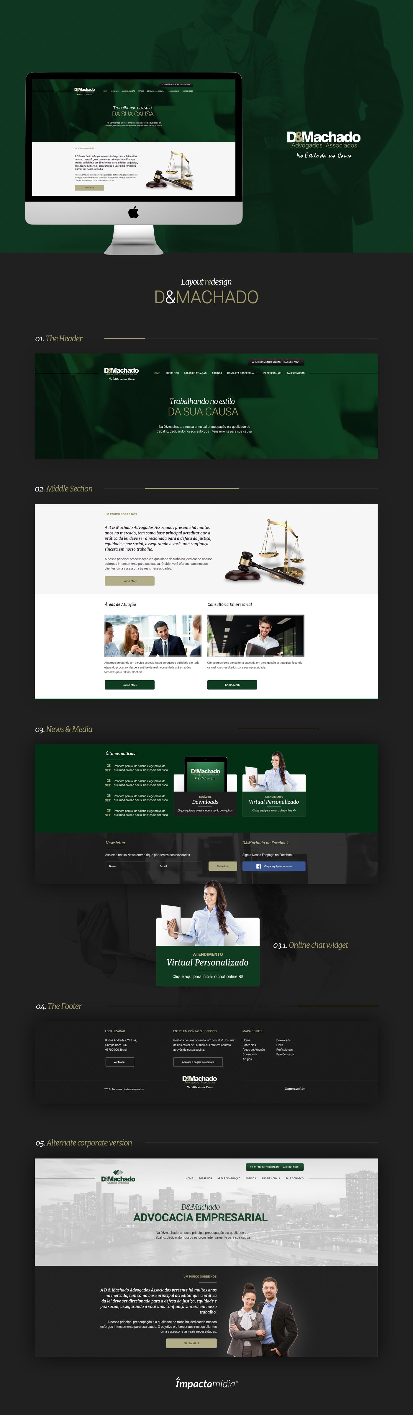 Web Webdesign Web Design  Layout psd lawyer
