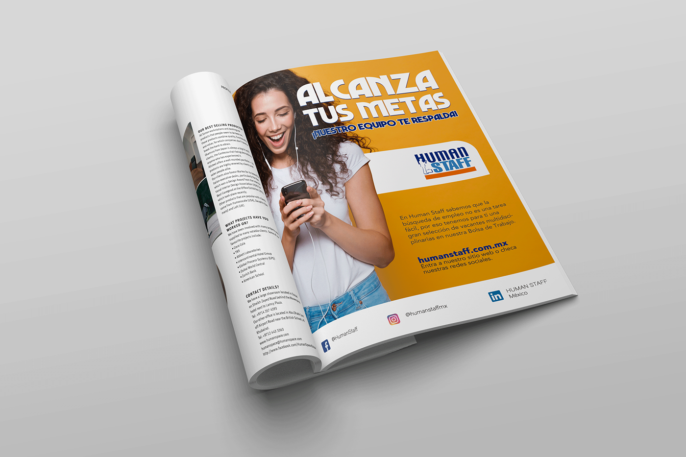 Publicidad Revistas on Behance 1a2ab271c40
