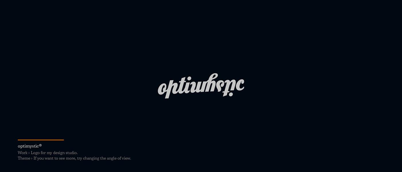 Optimystic - logo for design studio