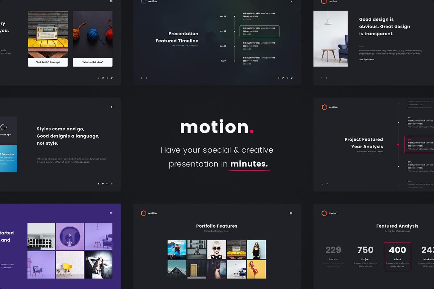 Notify - Animated & Creative Presentation Template (KEY) - 13