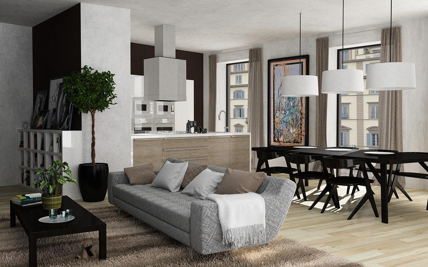 高品質的34套客廳牆壁顏色欣賞