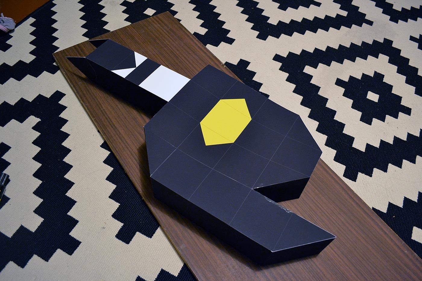 big paper batman Minimalism
