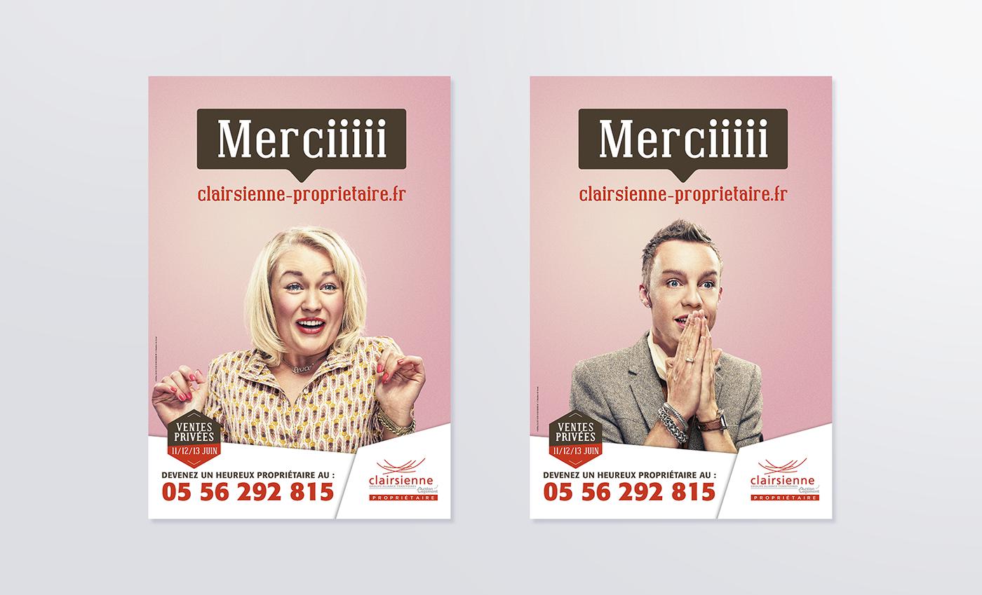 affichage edition campagne pub Bordeaux immobilier habitat Urbanisme corporate stratégie de marque