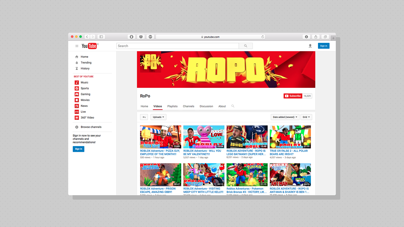 ROPO — Youtube Channel Ideny on Behance Home Design Youtube Channels on home styles, fashion youtube channels, home floor plans and designs, home ideas, home interior,