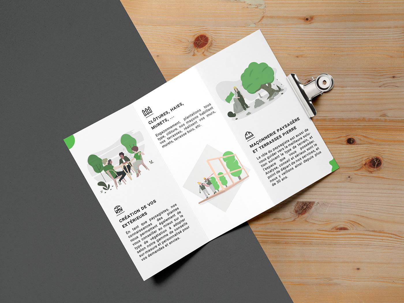 identity brand design visual vector logo Mockup branding  print card