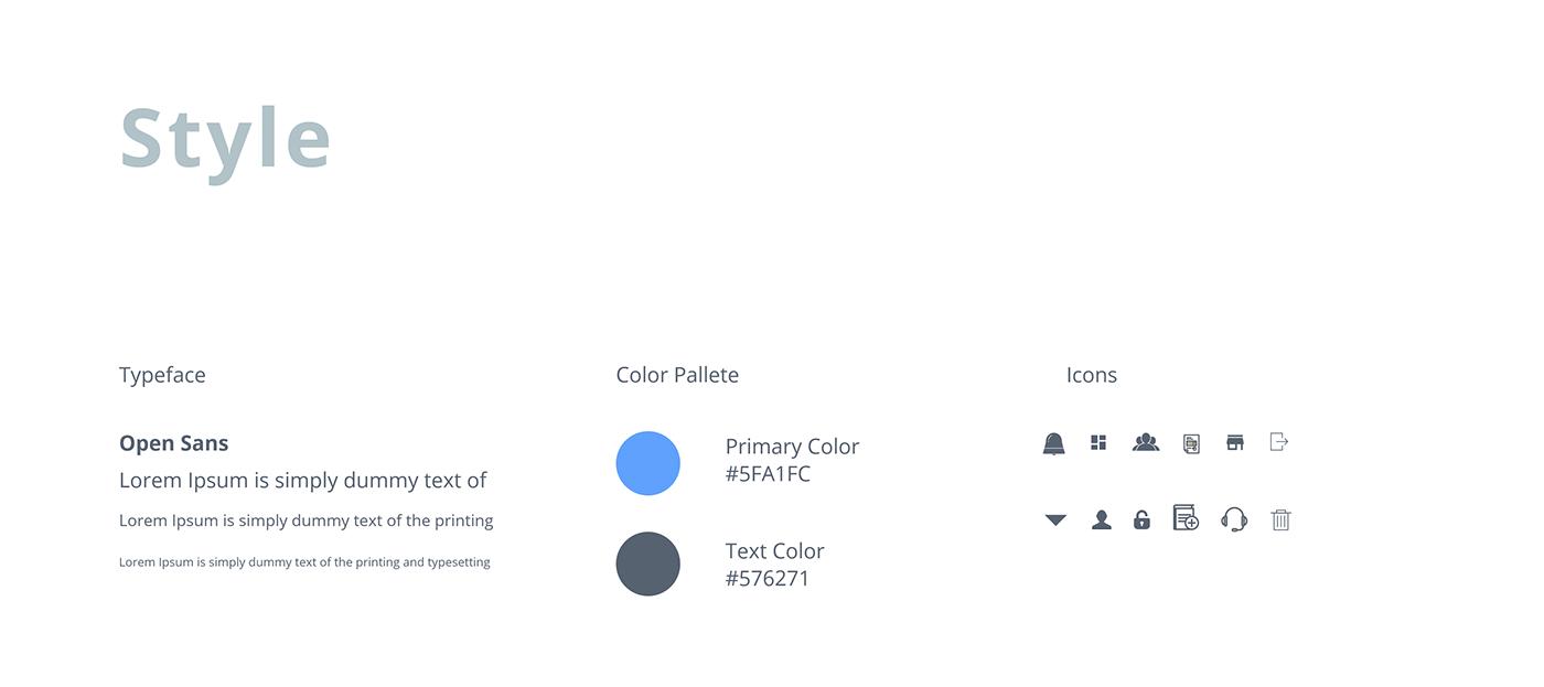 Adobe Xd Dashboard Ui Kit Inventory System Freebie On Behance