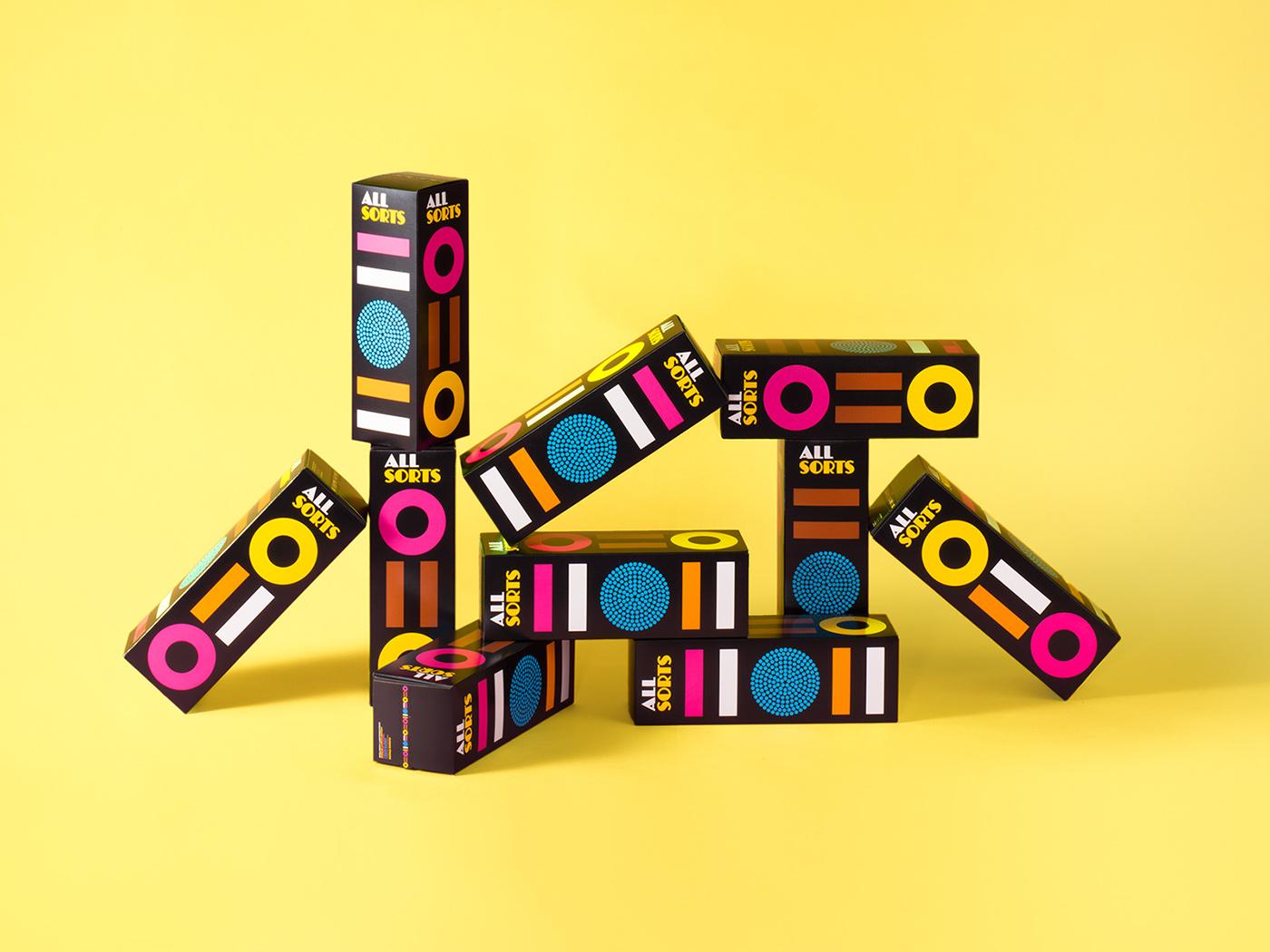 高質量的19張糖果包裝設計欣賞