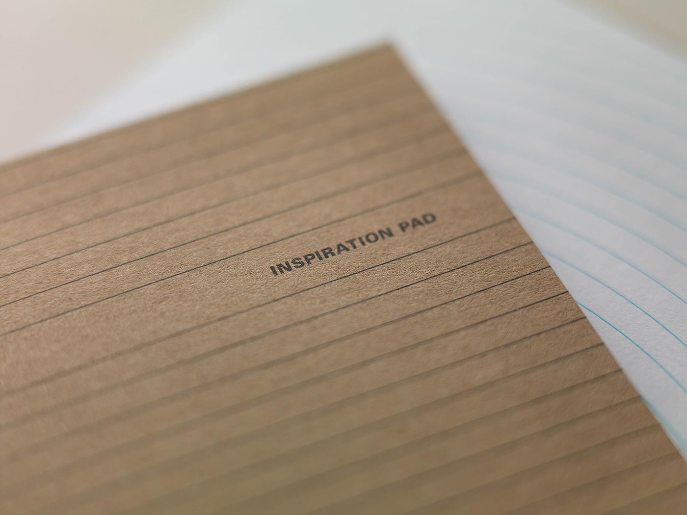 Adobe Portfolio inspirationpad inspiration pad graphic lines notebook new tm thomasset warped brussels belgium Creativity creative pages