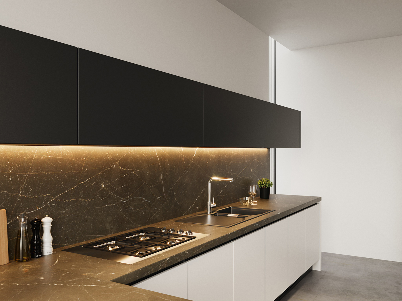 Genial ... Poliform Varenna Kitchens. The Idea Is To Have Several Sets Of Images,  Showing Different Layouts And Different Models Of Kitchens In A  Photorealistic, ...