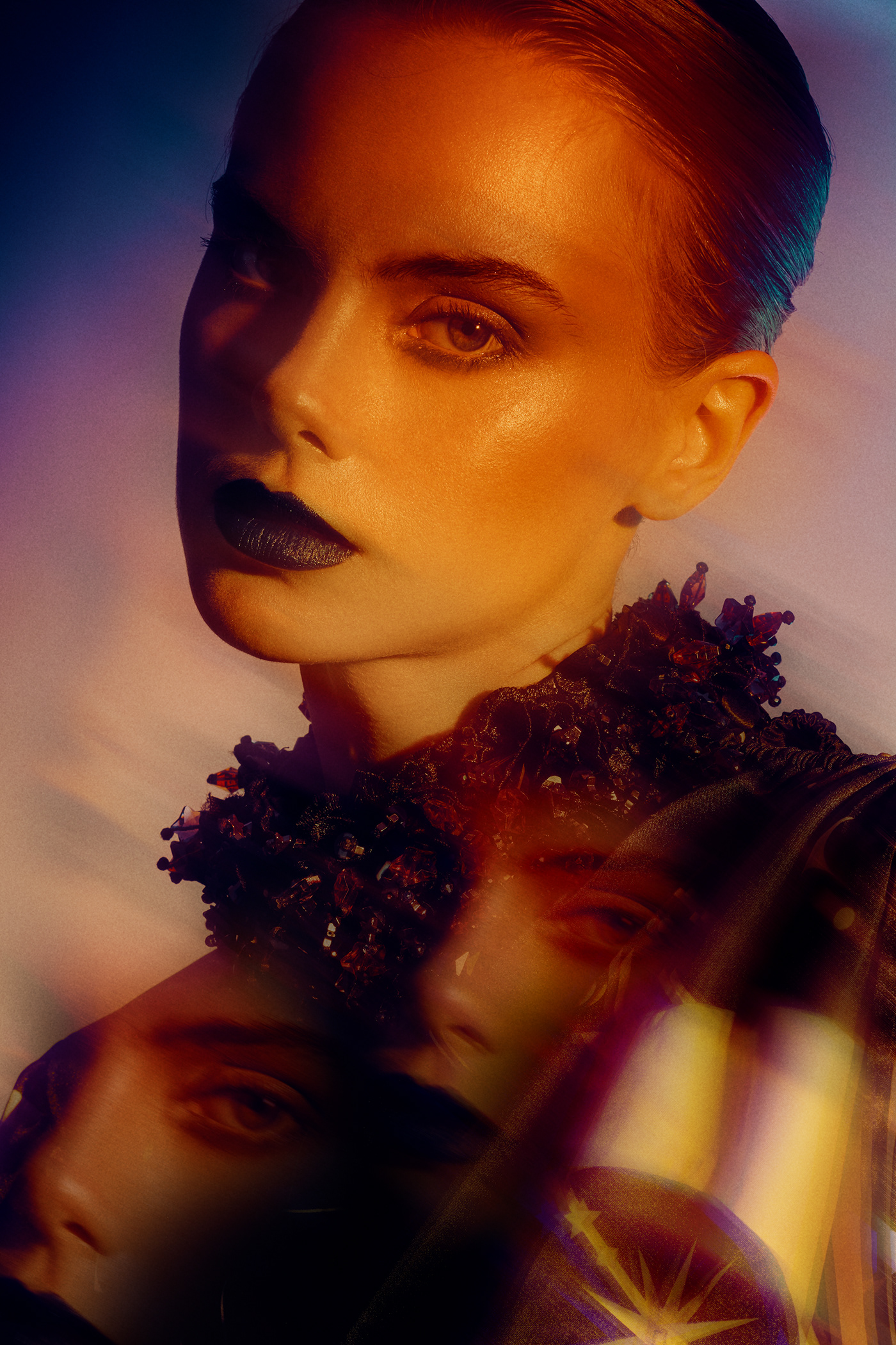 beauty color editorial fashionphotography magazine makeupartist mpdel newyork styling