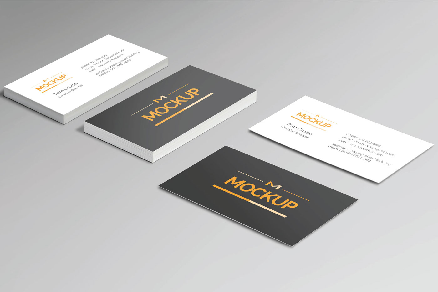 6 style business card mockups free download on behance download for free here reheart Images