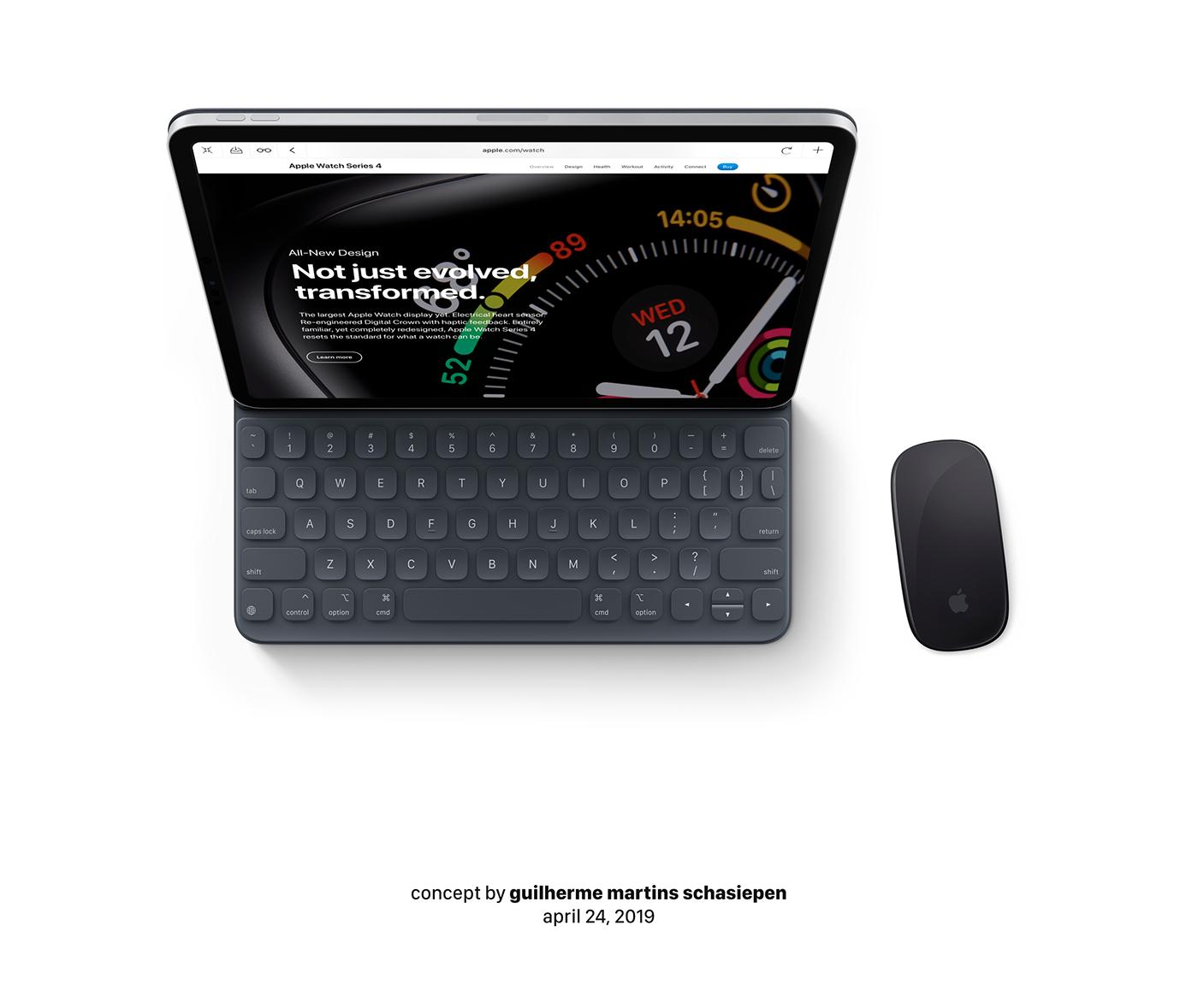apple iPad ipad pro ios 13 ios13 mouse magic mouse mac macbook icloud