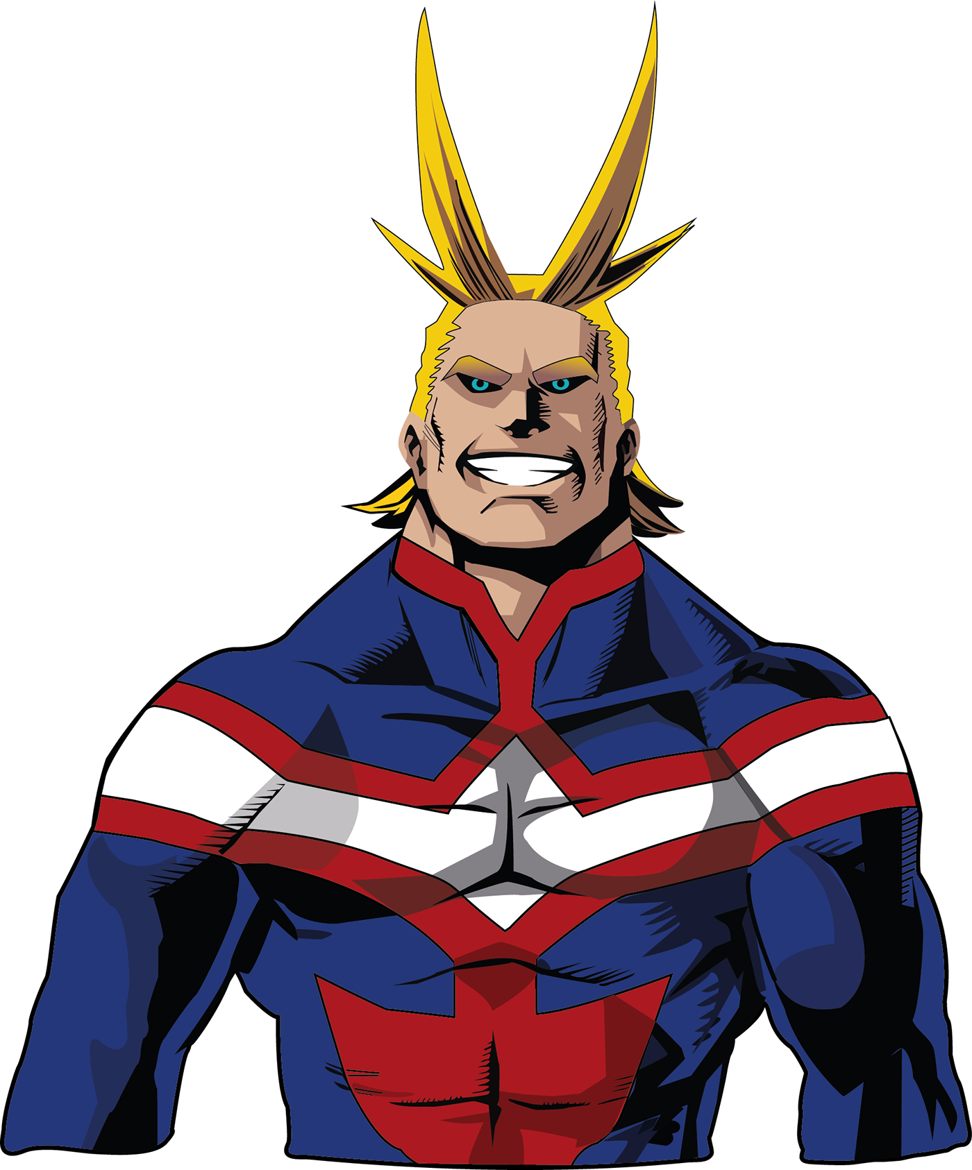 ALL MIGHT on Behance