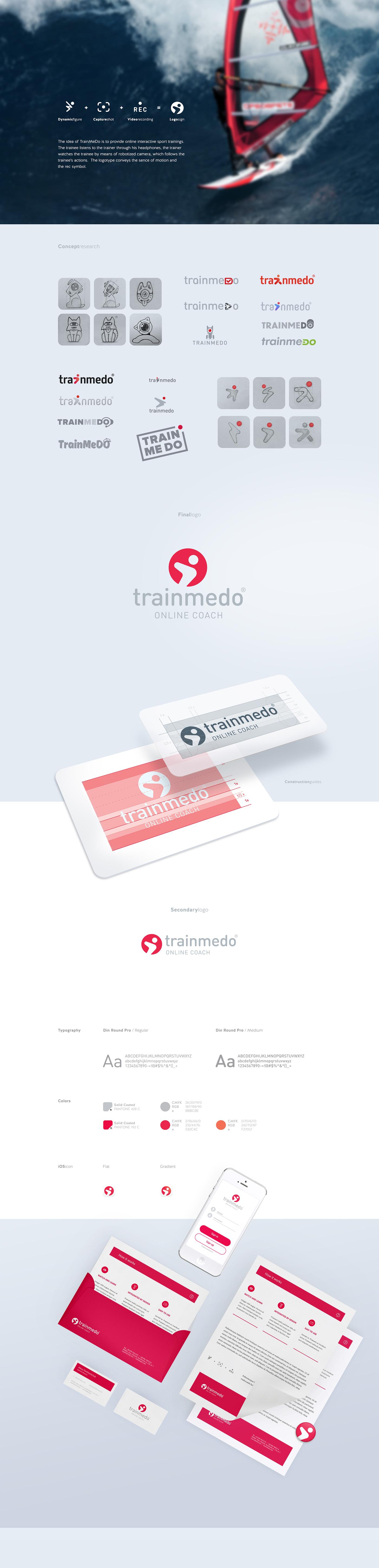 galitsky logo sport Corporate Identity video interactive training identity visual Logotype brand New brand