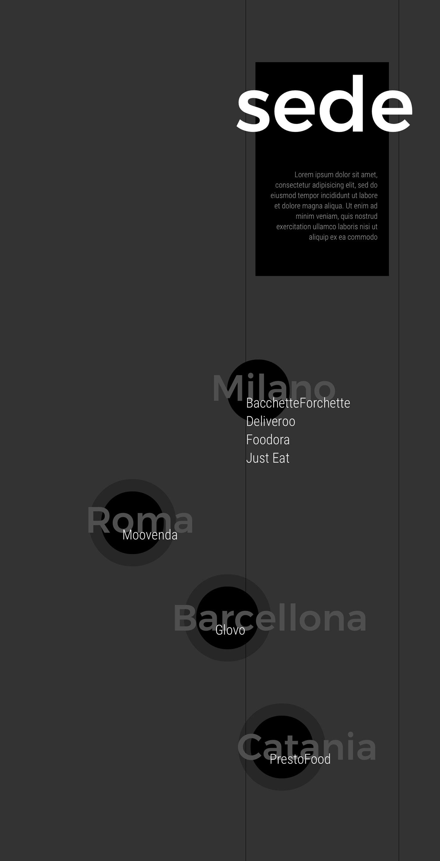 Food  food delivery report Web Design  Interaction design  Website inspiration minimal black landing