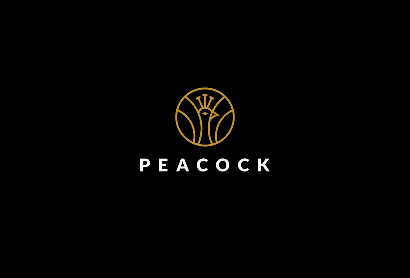 peacock logo and ci on behance